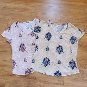 Two Sonoma tshirts.  Size L